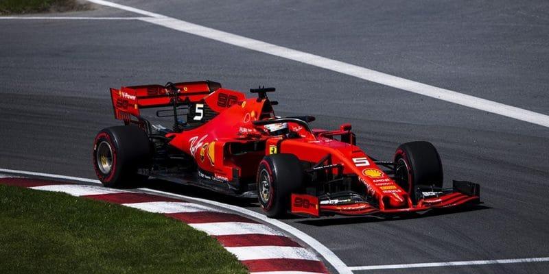 Vettela zQ3 vyřadil technický problém
