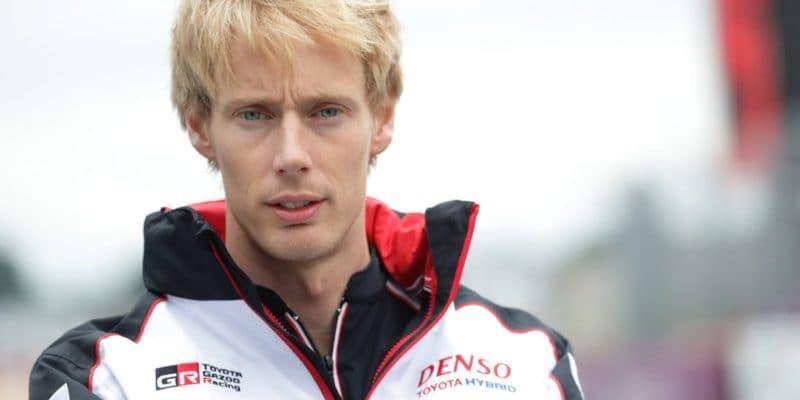 Hartley děkuje týmu Porsche