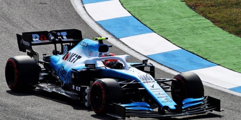 Kubica dostal nové šasi z důvodu poškození