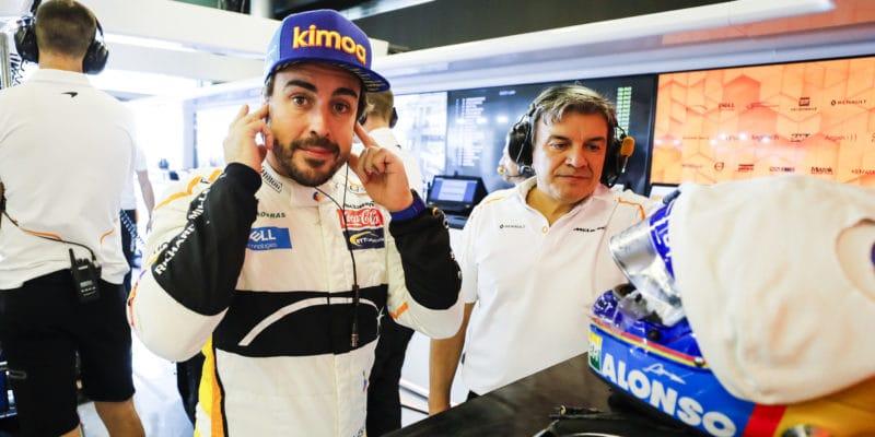 Alonso bude trénovat naDakar 2020
