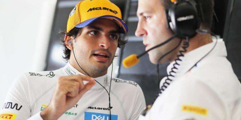McLaren stanovil cíl pro Carlose Sainze