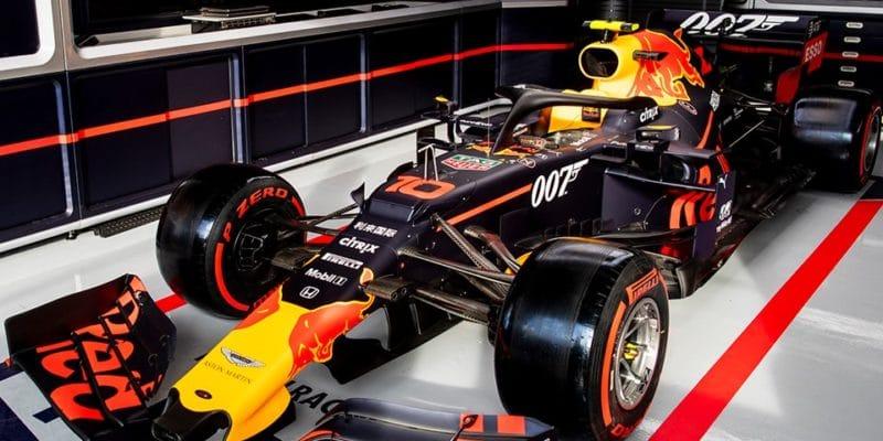 Red Bull pojede sprvky Jamese Bonda