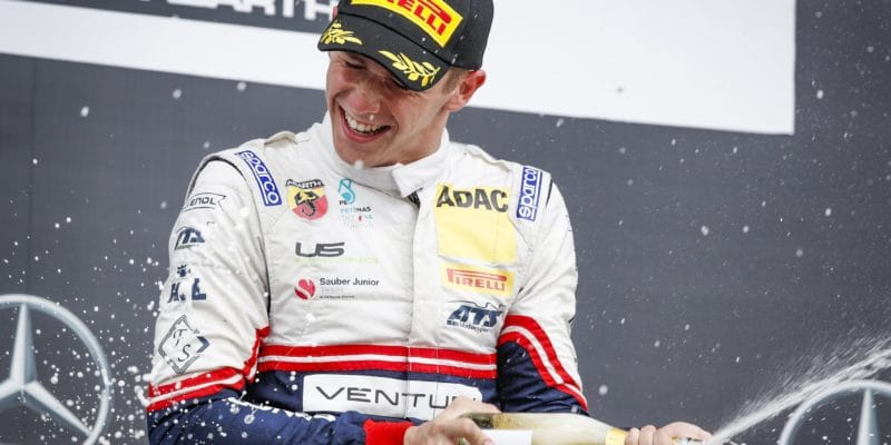 Arthur Leclerc vyhrál na Hockenheimu závod ADAC F4