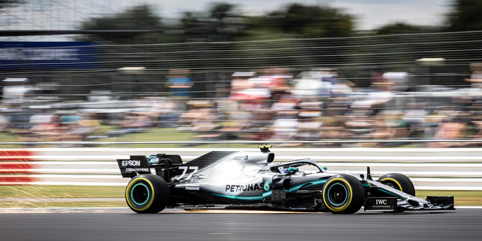 Kvalifikaci ve Velké Británii vyhrál Valtteri Bottas
