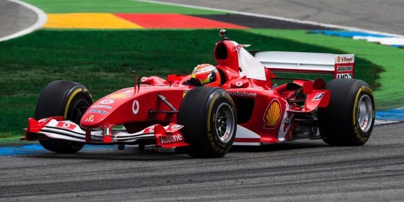 Schumacher: Čekat na jízdu v F2004 bylo jako mučení