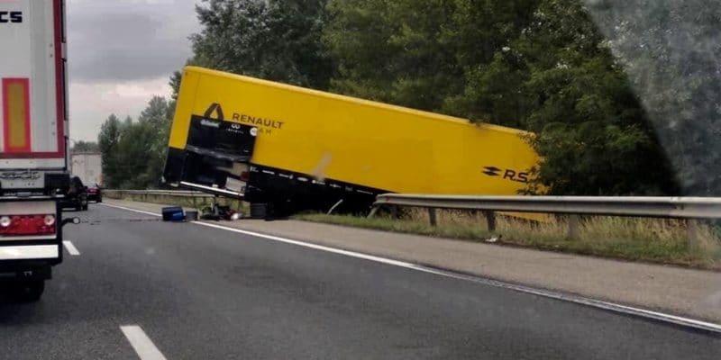Nehoda kamionu Renaultu neovlivní VC Maďarska