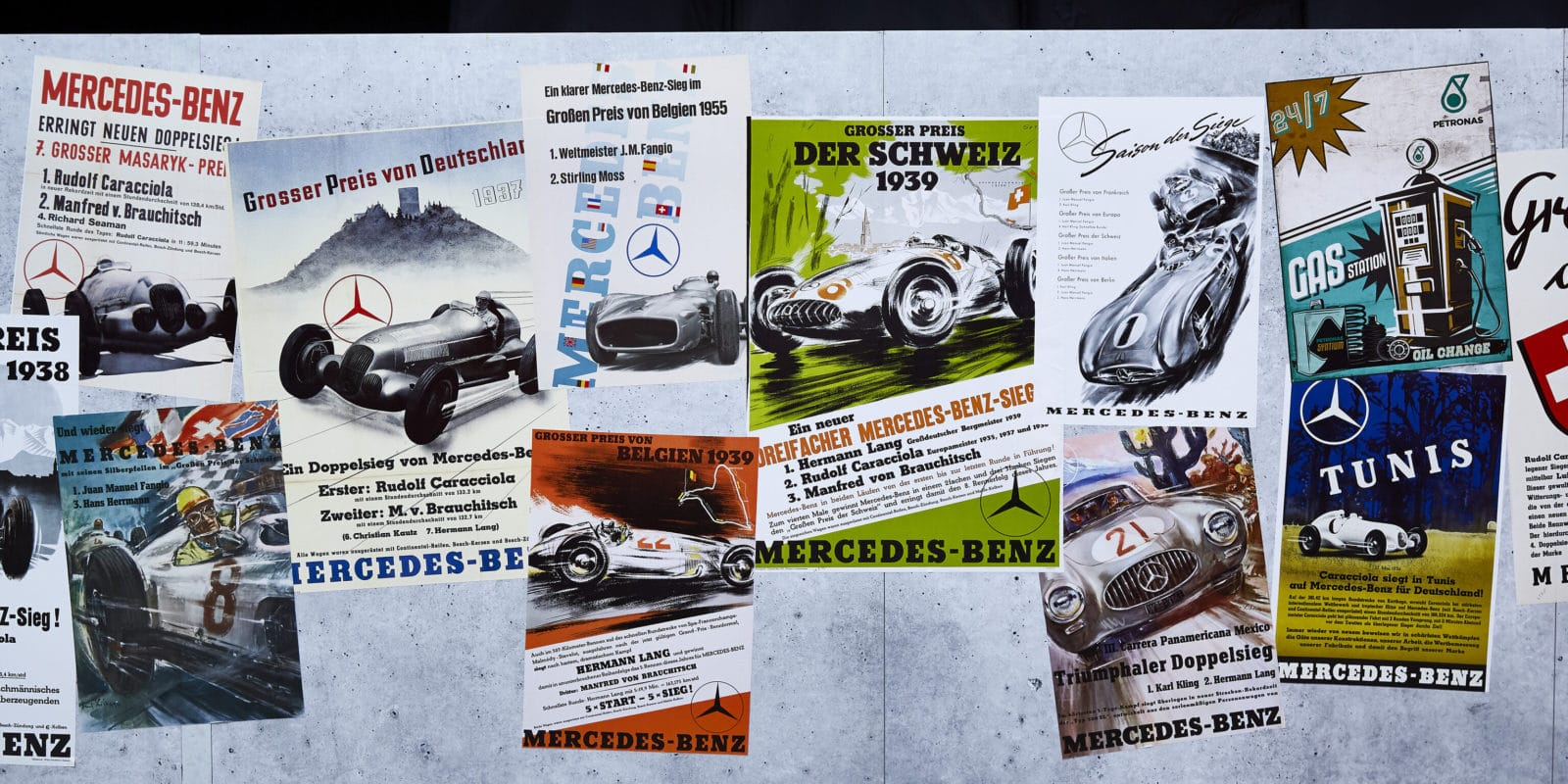 VC Německa_2019_zbarvení_Mercedes_retro
