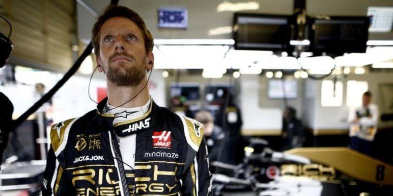 Haas popřel fámy, že by Grosjean nezávodil vNěmecku