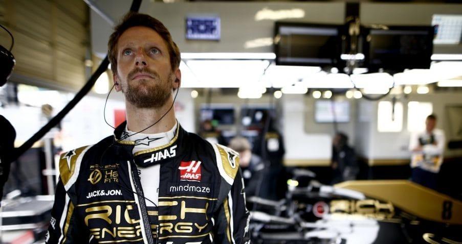 Haas popřel fámy, že by Grosjean nezávodil v Německu