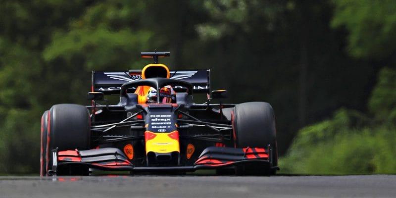 Max Verstappen získal vMaďarsku první pole position