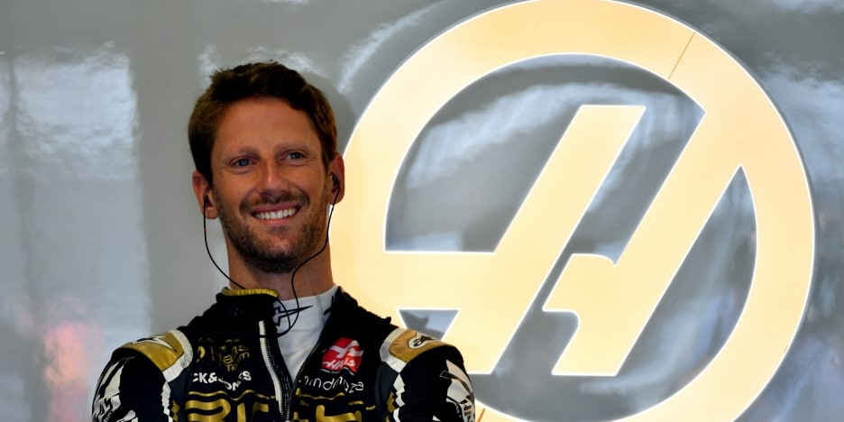 """Grosjean: Kvůli nehodě je všechna páteční práce """"v koši"""""""