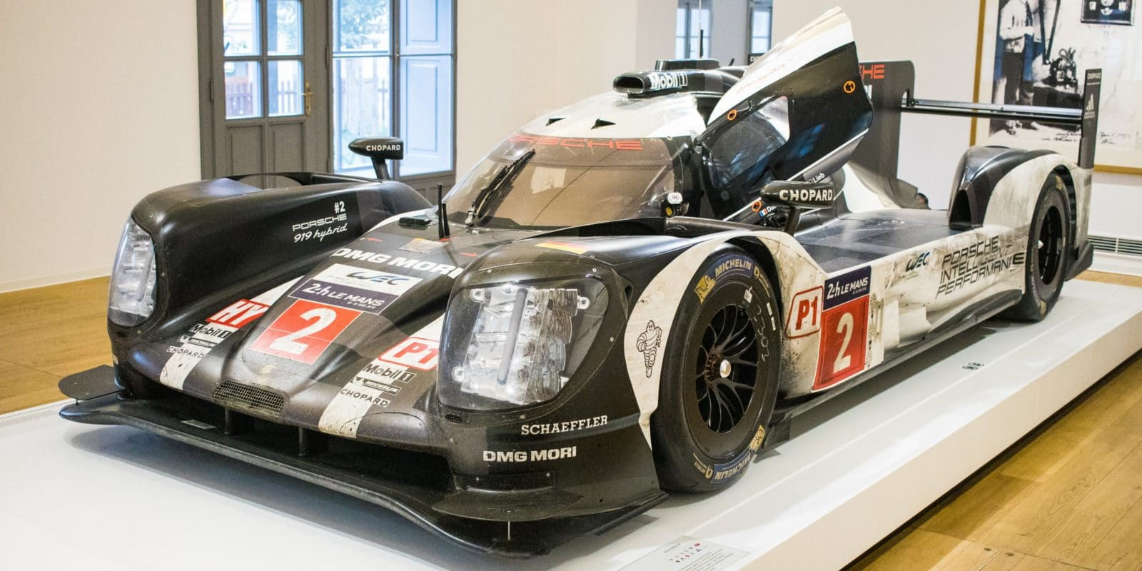 Vítězné Porsche 919 z Le Mans k vidění v Liberci