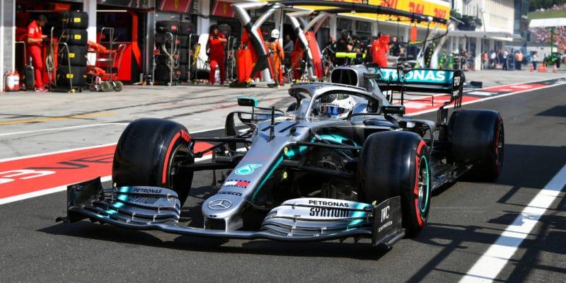 Mercedes nejopatrnější přivýběru pneumatik pro Spa