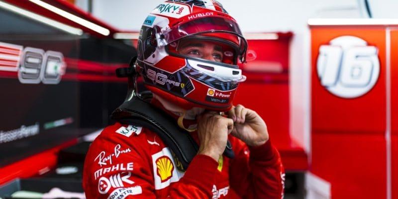 Ve třetím tréninku vMarině Bay nejrychlejší Leclerc