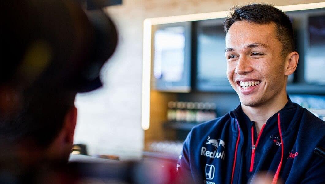Albon velmi zapůsobil na Red Bull