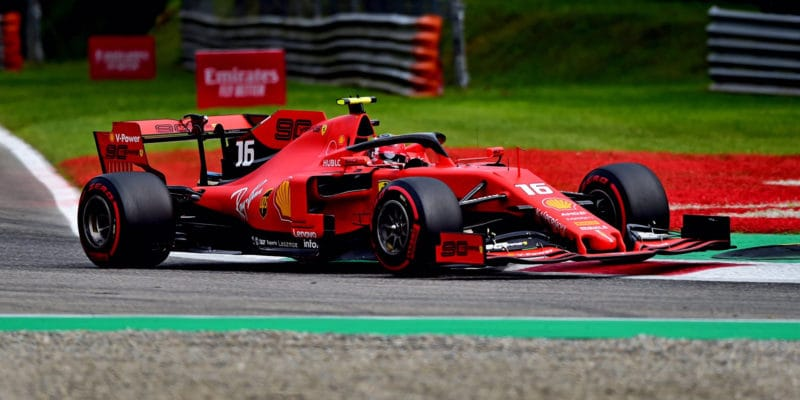 Kvalifikaci v Monze vyhrál Charles Leclerc