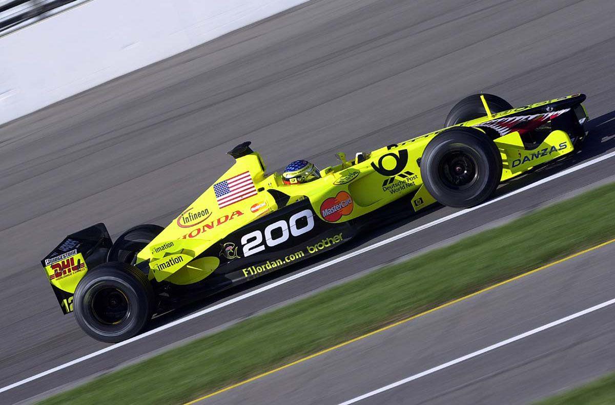 Jordan US GP 2001