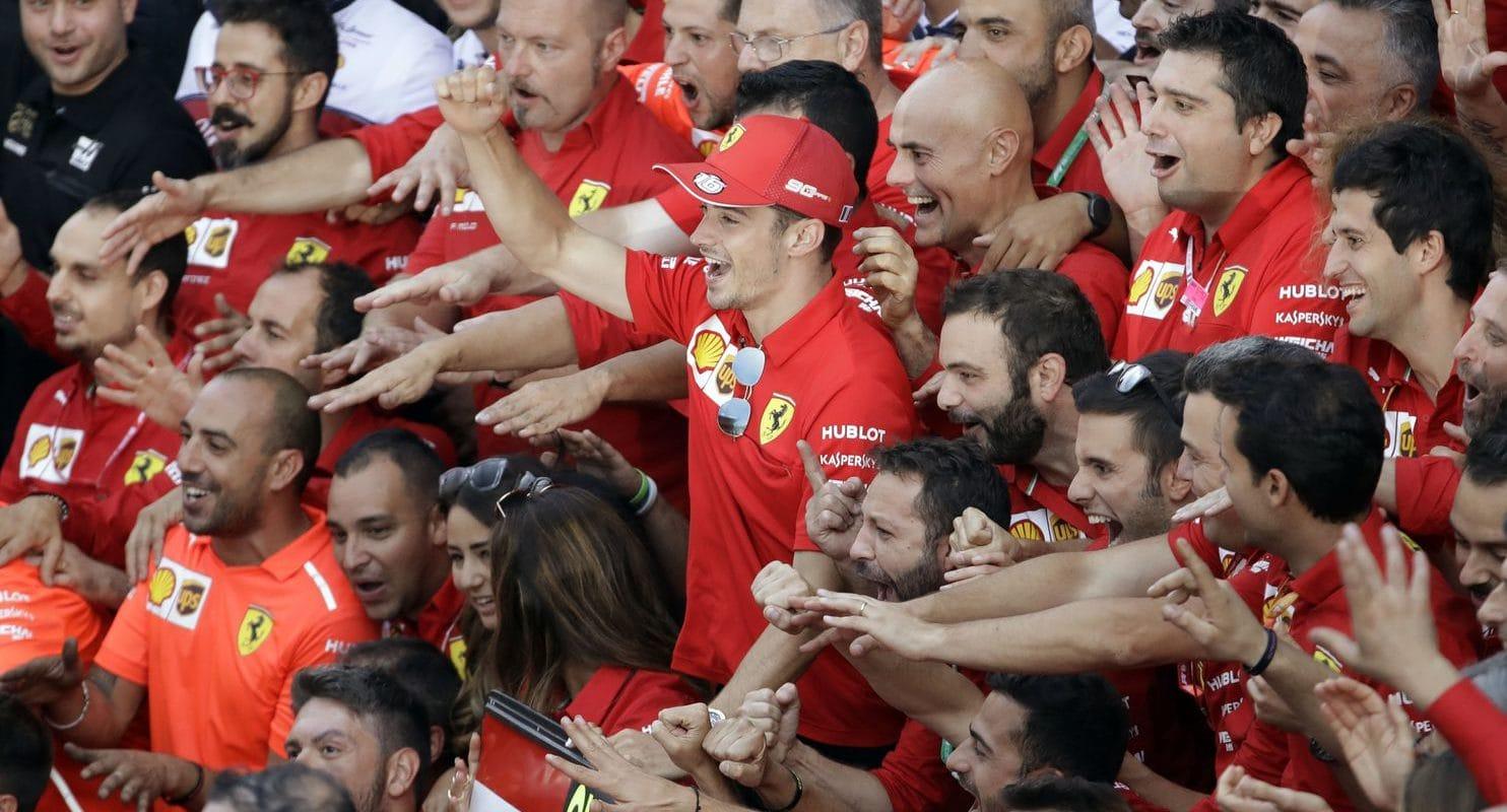 Leclerc: Verstappen mi uštědřil lekci, díky které jsem vyhrál