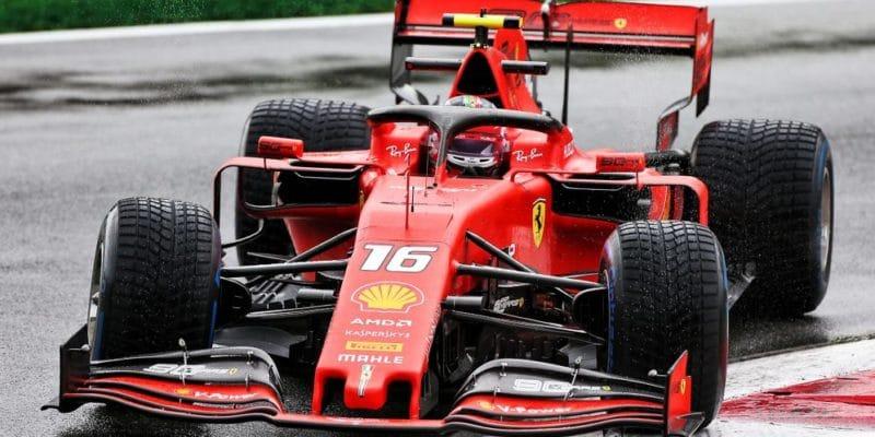 V pátek dopoledne byl vMonze nejrychlejší Leclerc