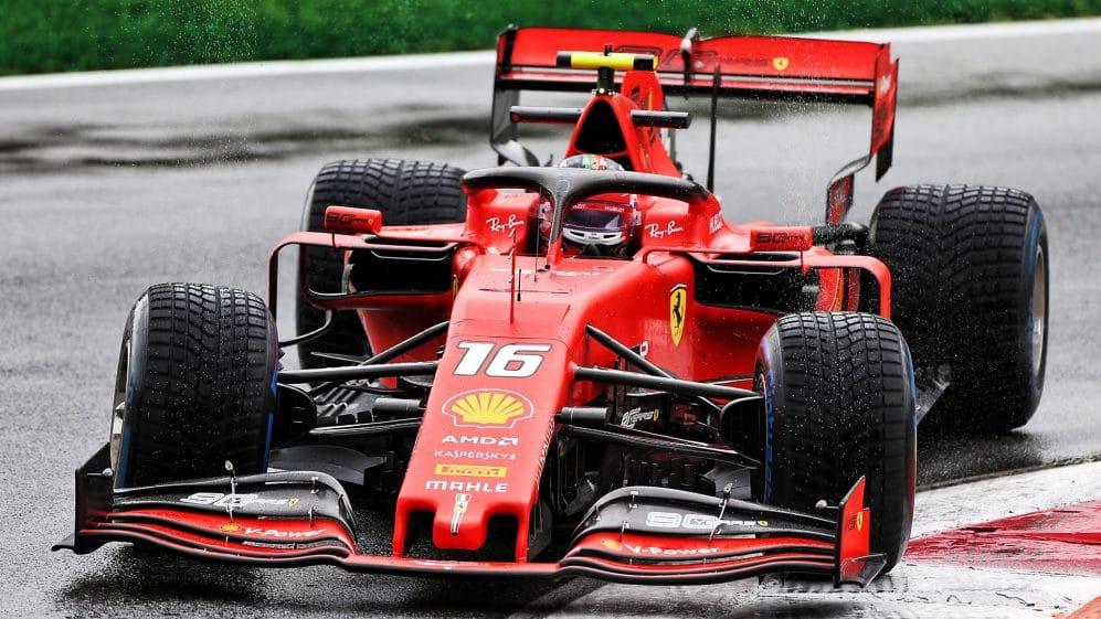 V pátek dopoledne byl v Monze nejrychlejší Leclerc