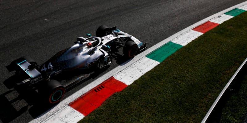 Lewis Hamilton používal v Monze maximální výkon