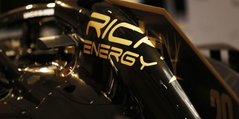 Haas bez titulárního sponzora: Rich Energy odchází