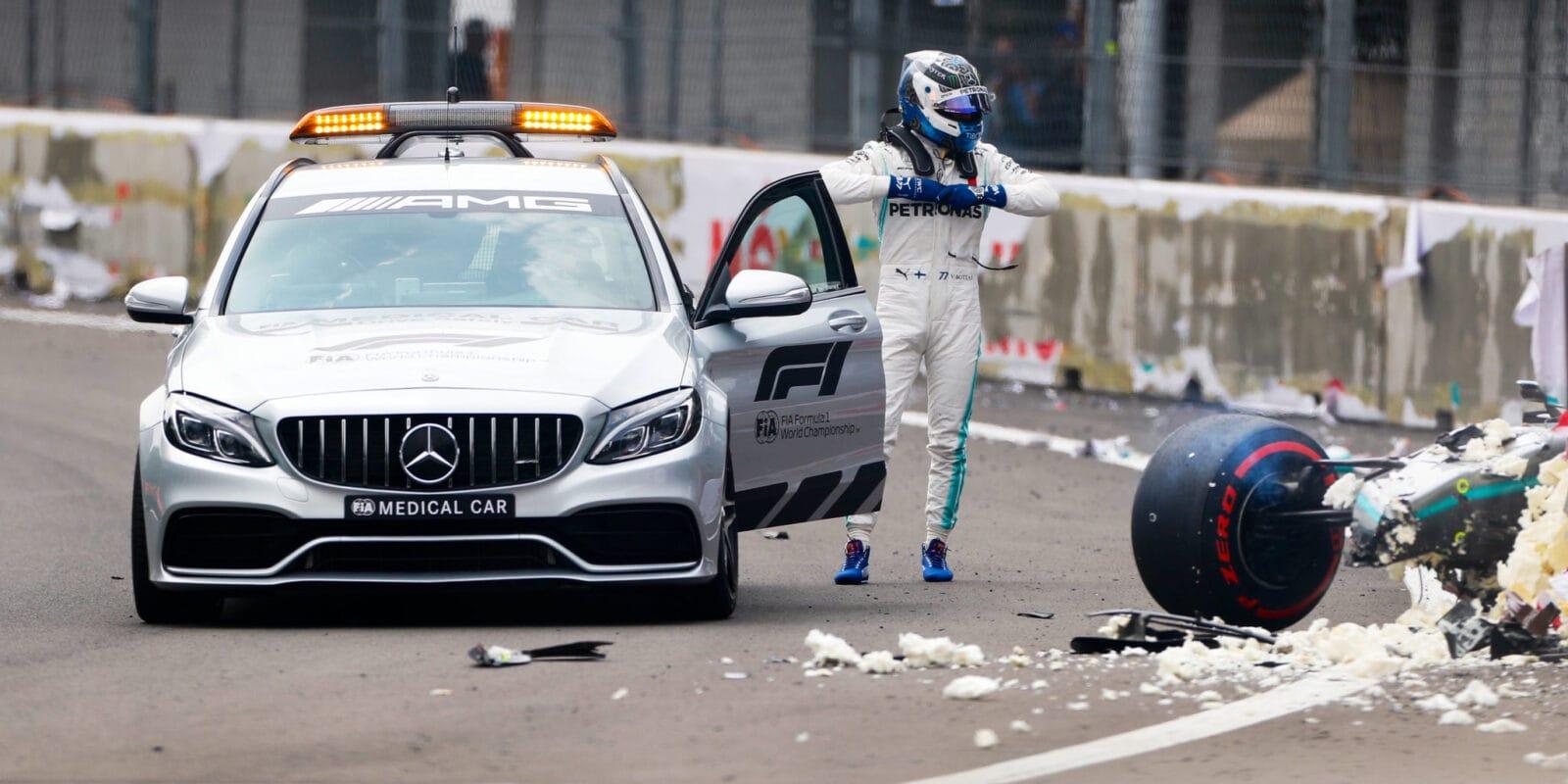 Valtteri Bottas je v pořádku, absolvoval přetížení 17G