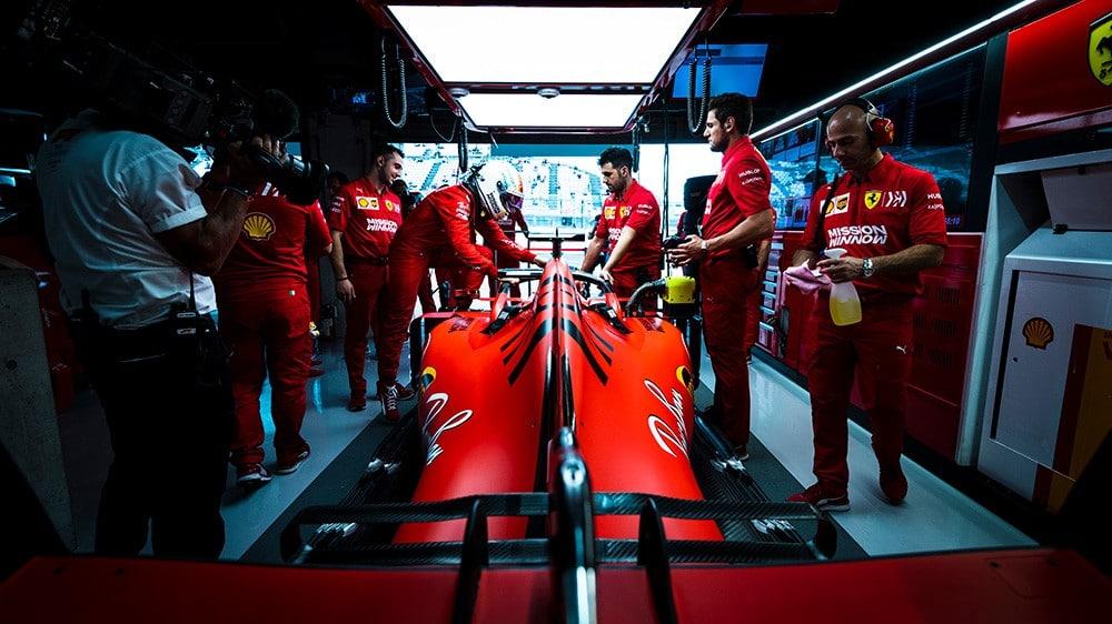 Ferrari by bez Maxovy penalizace v první řadě nestálo