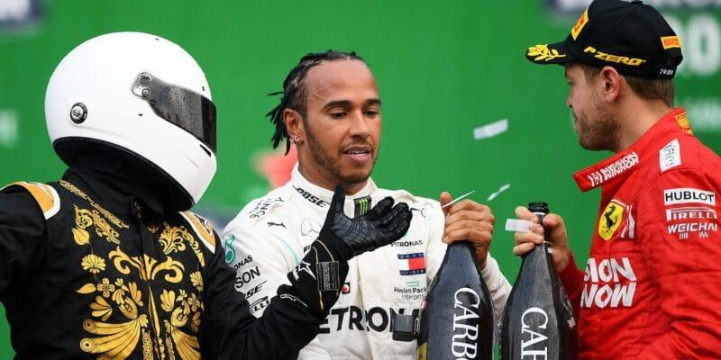 Všude je Heineken, zlobí se Vettel