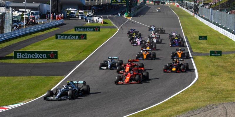 V Japonsku vyhrál Bottas, Mercedes slaví titul