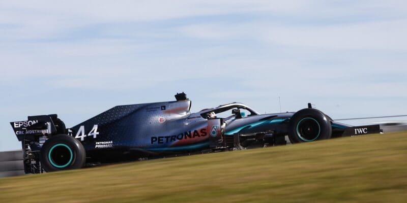 Druhý trénink v USA ovládl Lewis Hamilton