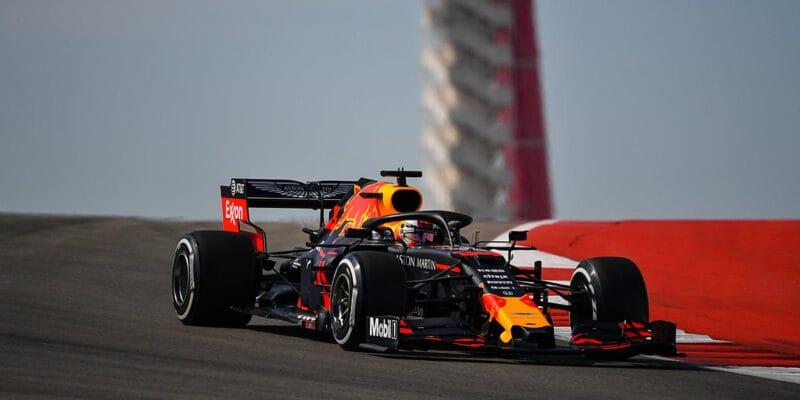 V posledním tréninku v USA byl nejrychlejší Verstappen
