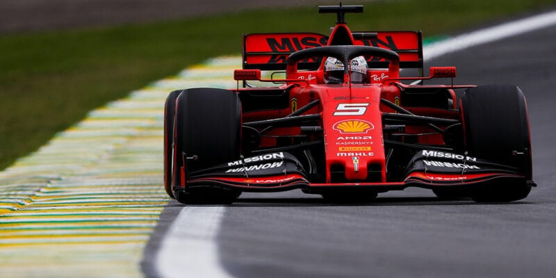 Druhý trénink v Brazílii ovládli jezdci Ferrari