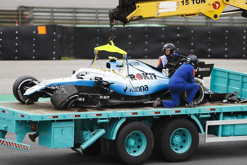 Kubica vysvětluje příčinu své páteční nehody