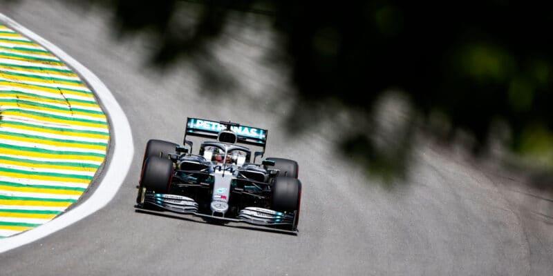 Ve třetím tréninku byl nejrychlejší Lewis Hamilton