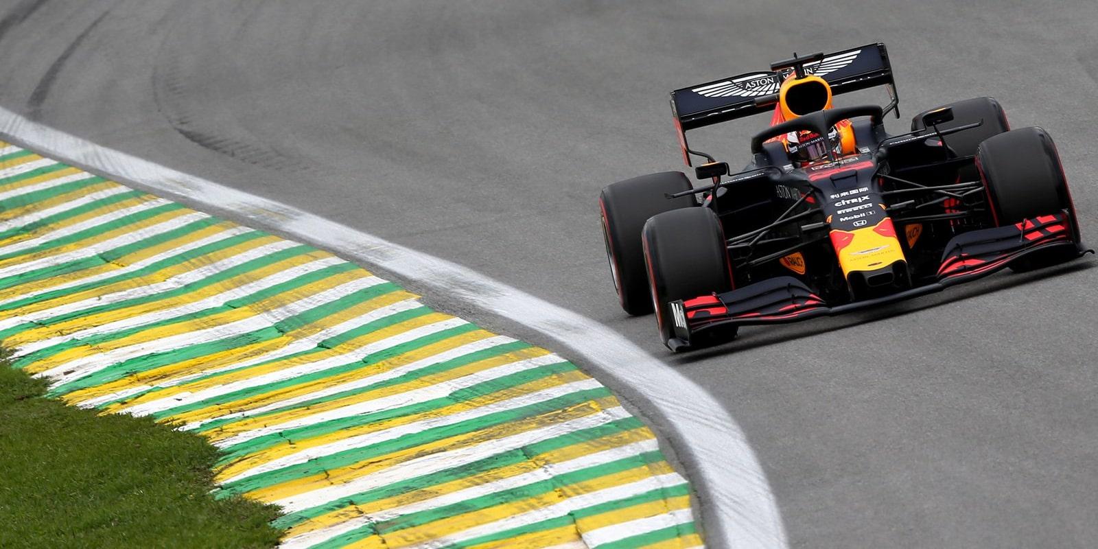 Kvalifikaci v Brazílii vyhrál Max Verstappen