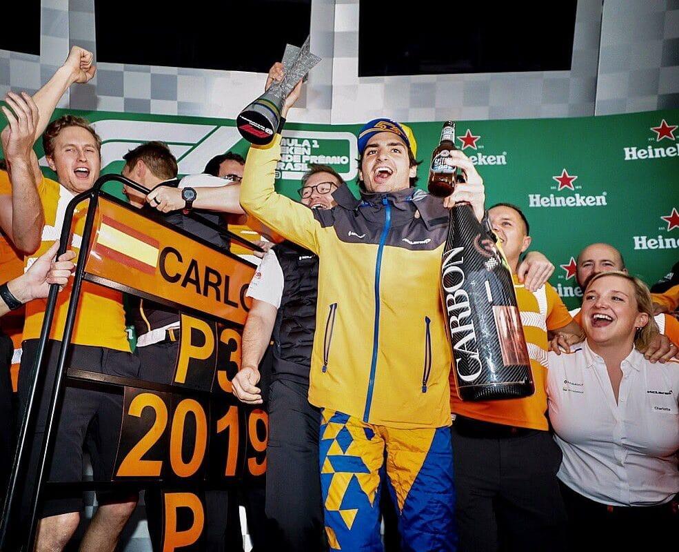 Sainz: Brazílie byla pro mě nejlepším závodem v kariéře