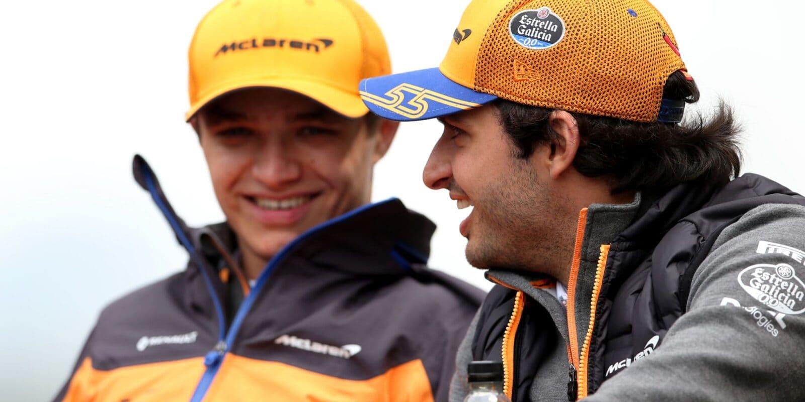 Norris se zachoval jako gentleman, chválí kolegu Sainz