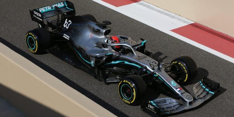 Russell testoval 18palcové pneumatiky pro Pirelli