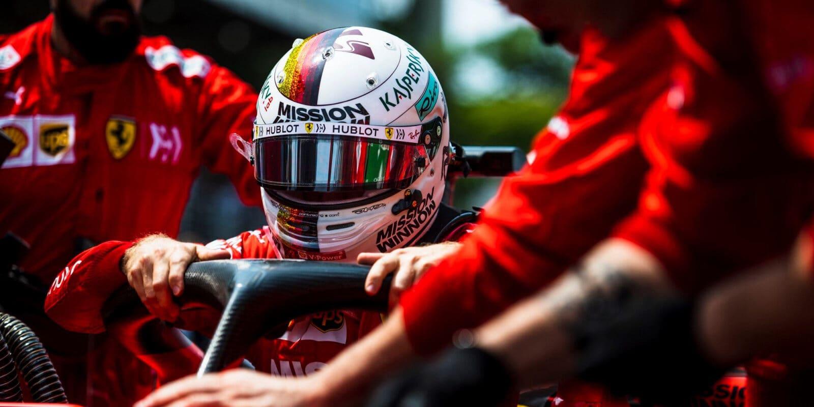Vettel má pouze pět závodů, aby přesvědčil Ferrari