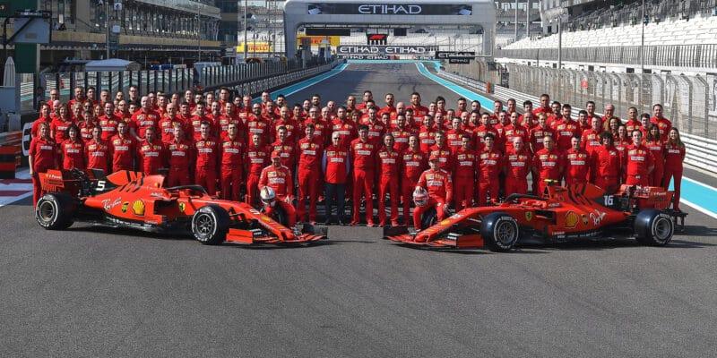 Ferrari nastartovalo pohonnou jednotku