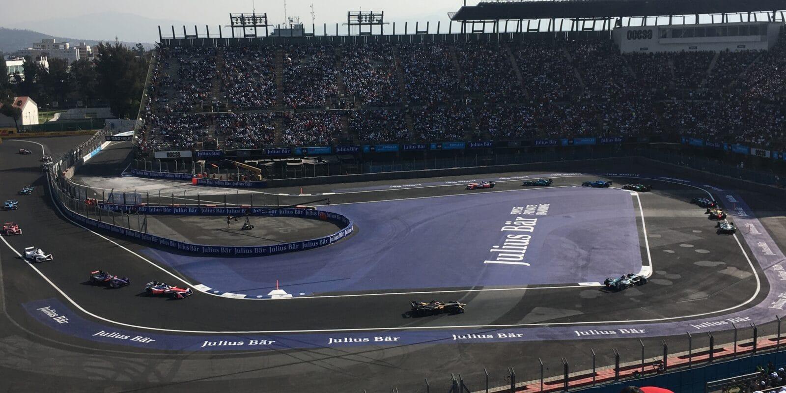Málo místa: Trať v Mexico City se pro závod FE rozšíří