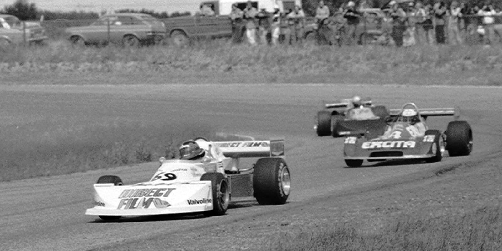Gilles Villeneuve Formula Atlantic 1977