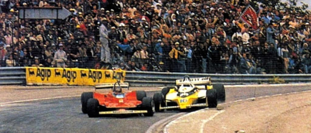 Rene Arnoux Gilles Villeneuve 1979 GP