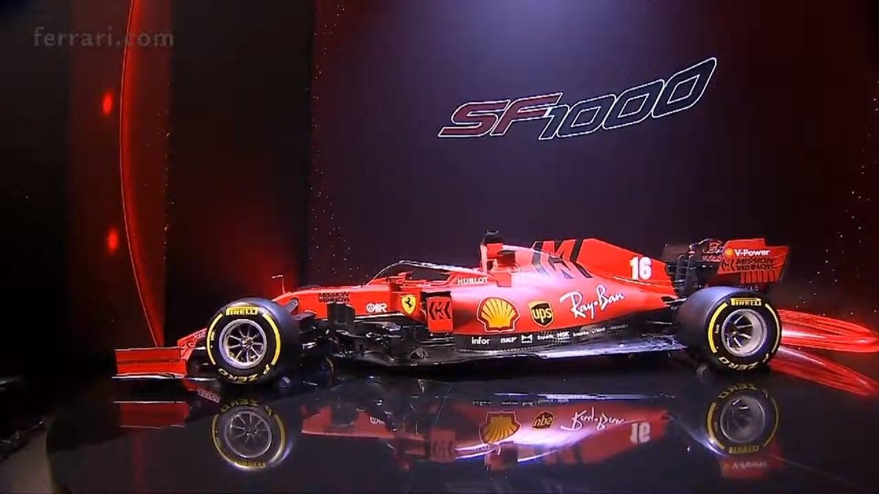 Ferrari odhalilo svůj vůz pro rok 2020