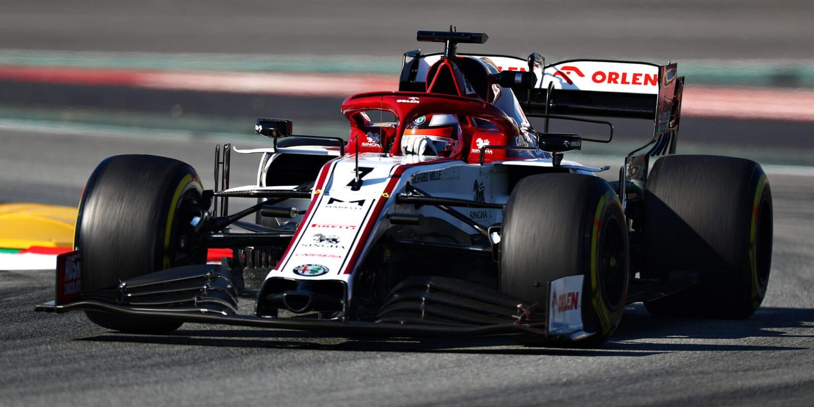 V druhý den testů nejrychlejší Räikkönen