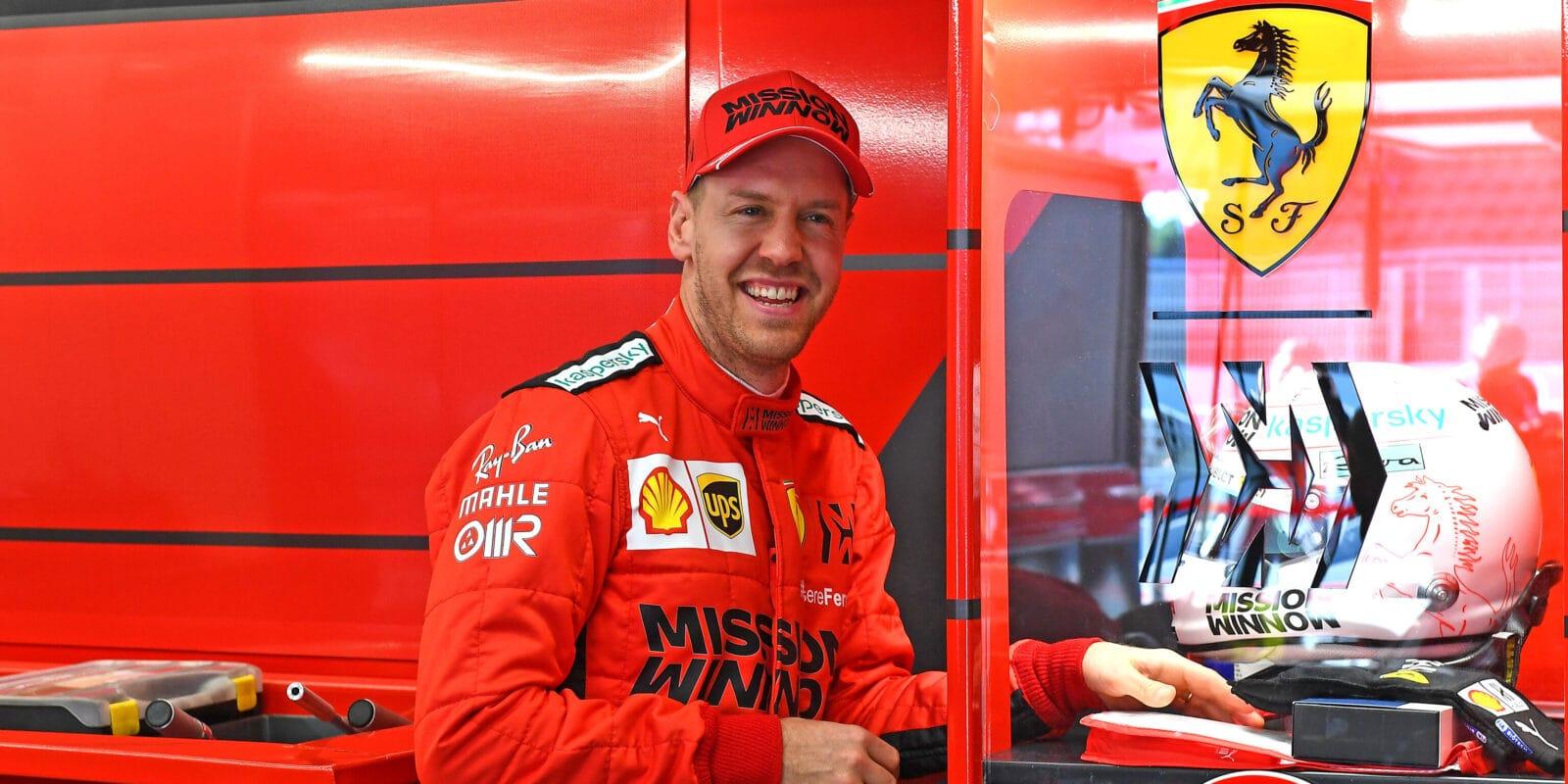 Vettel: DAS? Jako řídit v žabkách