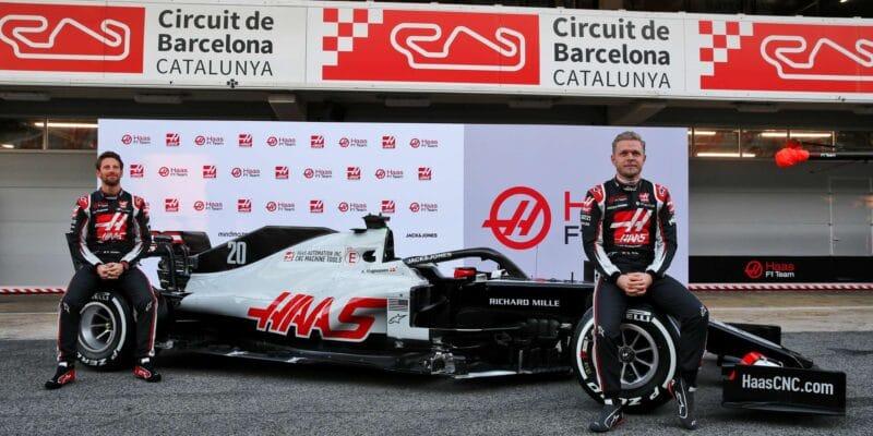 Haas má za sebou oficiální prezentaci vozu