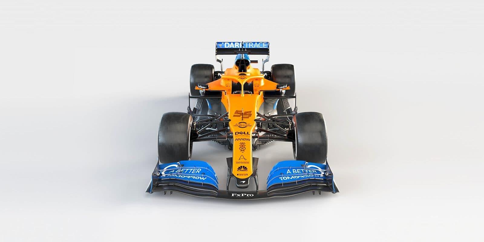 McLaren odhalil monopost MCL35