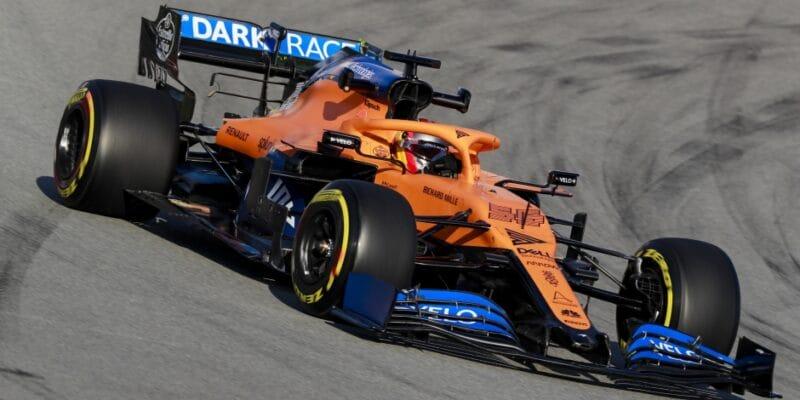 McLarenu se povedl silný vstup do předsezóních testů